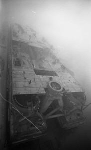 B2022 - Kraaneiland in de mist