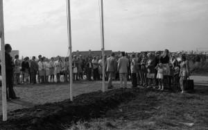 """B3445 - Opening nieuw volkstuincomplex van de vereniging De Amateur"""""""""""