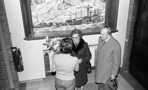 B3590 - Jubilaris dhr Heijmans bij Vd Giessen