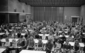 B4329 - Bijeenkomst scholieren